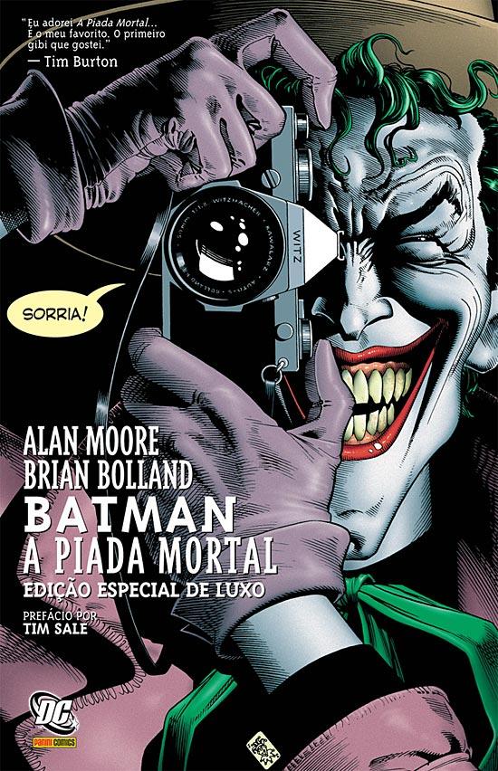 Batman: A Piada Mortal – Alan Moore, Brian Bolland