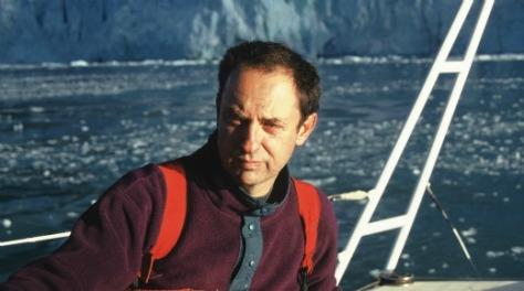 Amyr Khan Klink, durante expedicao a Antartica.(sem data)