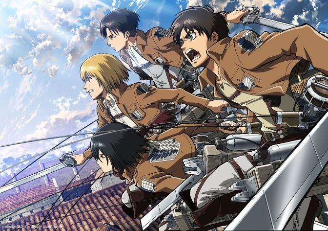 Attack on Titan: o Game of Thrones dos animes