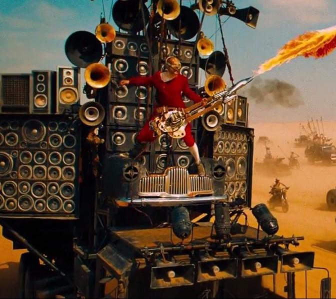 Enlouqueça com Mad Max