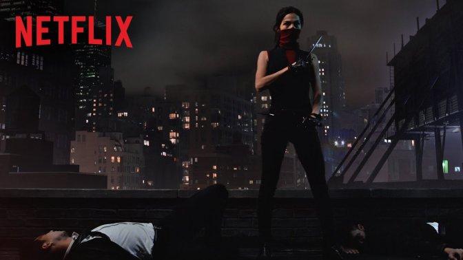 Elektra aparece no teaser da nova temporada de Demolidor