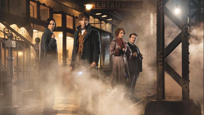 """J.K. Rowling confirma trilogia de filmes para """"Animais fantásticos…"""""""