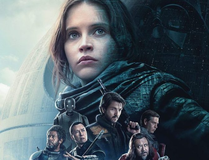 Novos vídeos de Rogue One saem para a TV