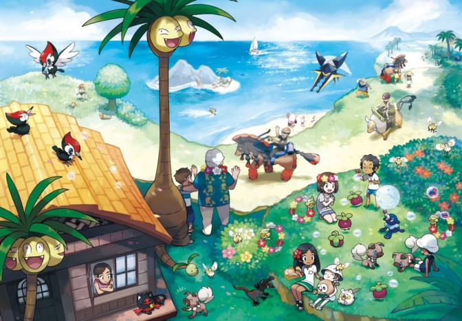 Pokémon Sun and Moon batem recorde de vendas da Nintendo