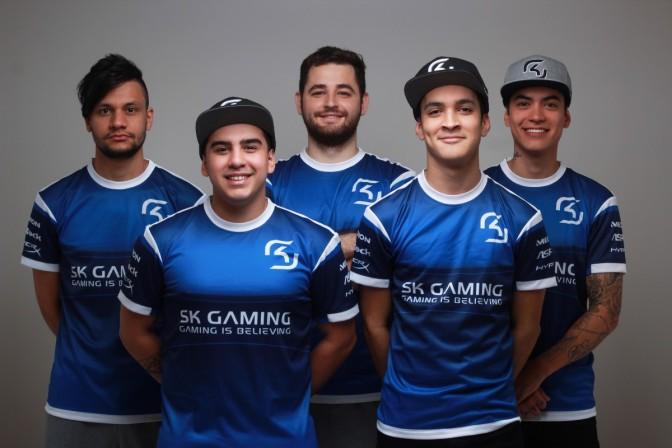 Brasileiros do SK Gaming jogam com #ForçaChape nos nicks